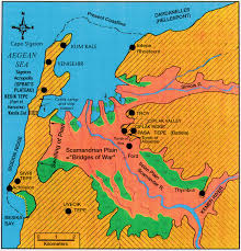 Map Of Ancient Greece by Geology Corresponds With Homer U0027s Description Of Ancient Troy
