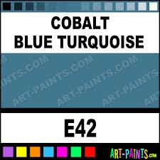 cobalt blue turquoise classic watercolor paints e42 cobalt