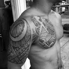 50 polynesian chest designs for tribal ideas