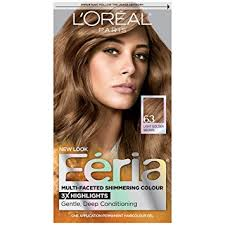 cool light brown hair color amazon com l oréal paris feria permanent hair color 63 sparkling