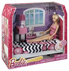 amazon com barbie doll and bedroom furniture set toys u0026 games
