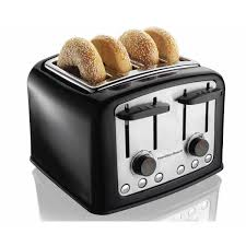Images Of Bread Toaster Hamilton Beach Smarttoast Extra Wide Slot Toaster 24444