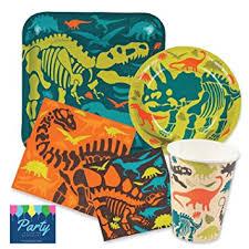 dinosaur birthday dinosaur birthday party supplies pack for 16