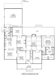 get in tune with nature a mountain style home house plans rear
