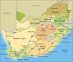 a picture of south africa map maps of south africa