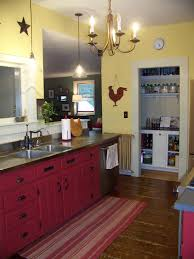 yellow and red kitchen decor home and room decorations