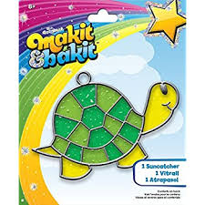 amazon com colorbok makit and bakit glowing suncatcher kits