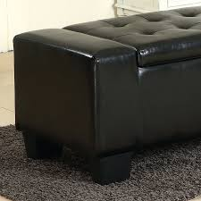Large Storage Ottoman Bench Decorative Benches For Bedrooms Benches With Storage Underneath