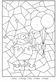 Halloween Free Printable Worksheets by Number By Number Halloween Coloring Page For Kids Education Math