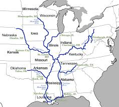 Map Of The Mississippi River Making The Case For Barges On The Missouri River Kcur