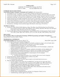 summary on a resume summary of skills on resume sle resume actuarial student