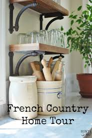 french country home tour space saving kitchen kitchens and spaces