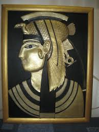 Egyptian Style Home Decor Leather Pictures Cleopatra Leather Art Home Decor Egyptian