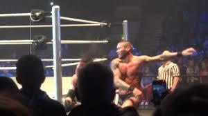 Metro Arena Floor Plan by Wwe Wrestling Metro Radio Arena Kane V Randy Orton Youtube