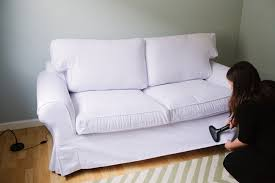 Ektorp Sleeper Sofa Comfort Works Ektorp Slipcover Review And A Giveaway That