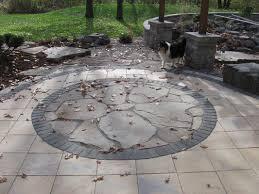 cobblestone patio pavers victoria homes design