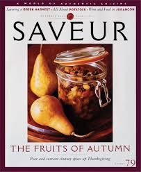 thanksgiving 2004 date 150 issues of saveur covers