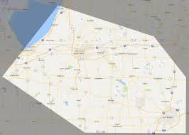 Michigan On The Map by Service Area South Bend Paper And Packaging St Joe Paper