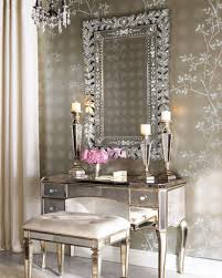 Horchow Home Decor Mirrored Vanity Desk At Horchow Home Decor Pinterest