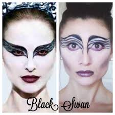 Diy Halloween Makeup Ideas Black Swan Makeup Diy Halloween Costume All Natural Youtube