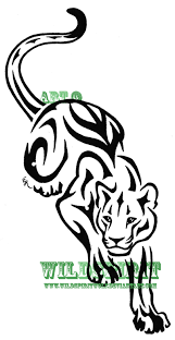 vector tiger and panther tattoos meaning get rid of your