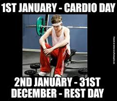 Gym Rest Day Meme - cardio day vs rest day very funny pics