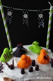 thanksgiving peeps halloween peeps cake pint sized baker