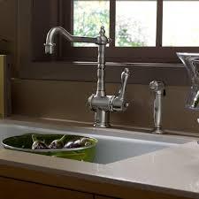 jado kitchen faucet 850860144 in brushed nickel by jado in new york city ny single