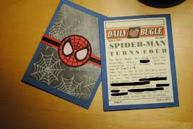 Homemade Birthday Invitation Cards Make Your Own Spider Man Birthday Invitations Page Turners Hollow