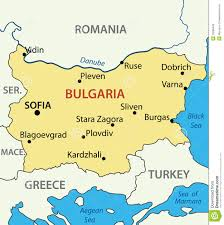 Map Of Bulgaria Map Republic Of Bulgaria Vector Royalty Free Stock Images