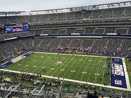 Metlife Stadium Floor Plan by Metlife Stadium Section 313 Giants Jets Rateyourseats Com