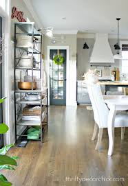 the kitchen that sarah built from thrifty decor
