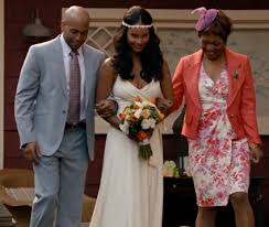 bryant wedding dresses bryant from parenthood in jcrew goddess gown from tv