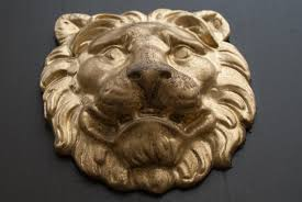 gold lion statue free images wood sign statue decoration ceramic door