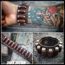 leather hand bracelet images Six shooter genuine leather bracelet cold dead hands jpg