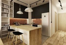 cuisine avec brique cuisine brique design deco cuisine brique