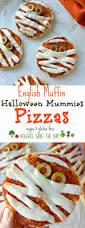 english muffin pizzas vegan mummies veggies save the day