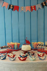 Nautical Party Theme - sailor party ideas by fabulous party planners sailor party