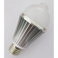 pir led light bulb motion sensor light bulb 6 watts warm white pir led light g60 e26