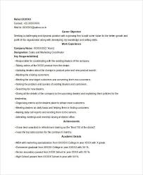 Marketing Coordinator Resume Sample by Incredible Account Executive Resume Samples