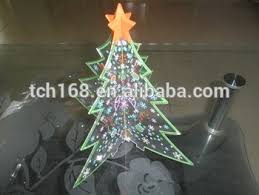 popular acrylic christmas decorations supplies tree shape