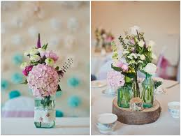 home made decoration pink and blue homemade wedding in chester boho weddings