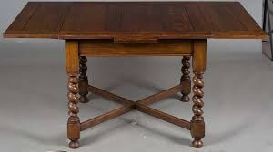 Oak Bistro Table Wonderful Oak Bistro Table With Antique Tiger Oak Draw
