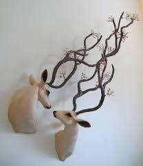 beautiful decorative deer sculptures by natasha cousens life s