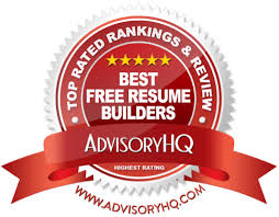 Top Rated Free Resume Builder Top 6 Best Free Resume Builders 2017 Ranking Resume Builder