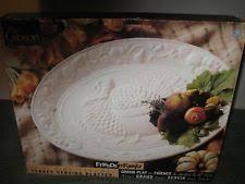 gibson porcelain platters ebay