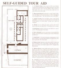 Adobe Floor Plans by California Missions San Miguel Arcangel