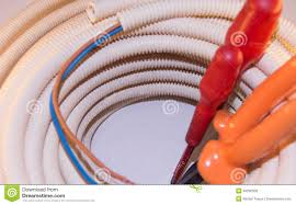 diy electrical installation stock photo image 48290526