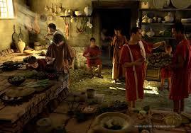 banchetti antica roma la cucina romana romanoimpero