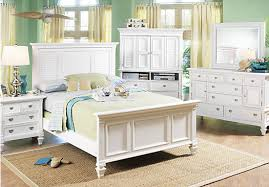 awesome white queen bedroom sets lakeside 5pcs cottage white queen